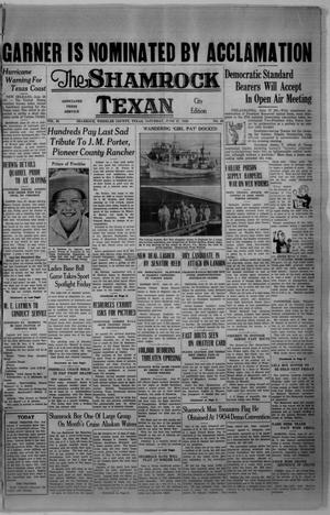 Primary view of object titled 'The Shamrock Texan (Shamrock, Tex.), Vol. 33, No. 43, Ed. 1 Saturday, June 27, 1936'.