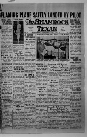 Primary view of object titled 'The Shamrock Texan (Shamrock, Tex.), Vol. 33, No. 31, Ed. 1 Saturday, June 13, 1936'.