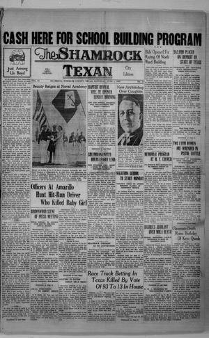 Primary view of object titled 'The Shamrock Texan (Shamrock, Tex.), Vol. 34, No. 24, Ed. 1 Saturday, June 5, 1937'.
