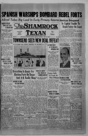 Primary view of object titled 'The Shamrock Texan (Shamrock, Tex.), Vol. 33, No. 66, Ed. 1 Saturday, July 25, 1936'.