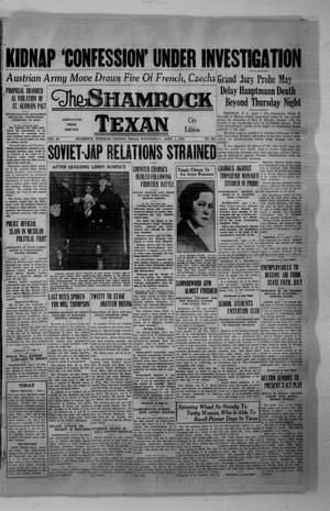 Primary view of object titled 'The Shamrock Texan (Shamrock, Tex.), Vol. 32, No. 280, Ed. 1 Wednesday, April 1, 1936'.