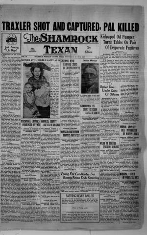 Primary view of object titled 'The Shamrock Texan (Shamrock, Tex.), Vol. 34, No. 62, Ed. 1 Wednesday, July 21, 1937'.