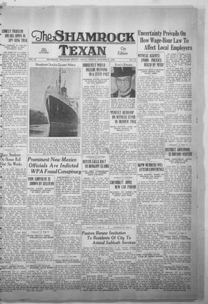 Primary view of object titled 'The Shamrock Texan (Shamrock, Tex.), Vol. 35, No. 141, Ed. 1 Friday, October 21, 1938'.