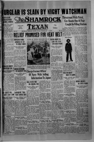 Primary view of object titled 'The Shamrock Texan (Shamrock, Tex.), Vol. 33, No. 56, Ed. 1 Tuesday, July 14, 1936'.