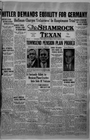 Primary view of object titled 'The Shamrock Texan (Shamrock, Tex.), Vol. 32, No. 276, Ed. 1 Friday, March 27, 1936'.