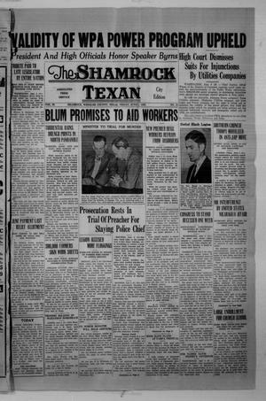Primary view of object titled 'The Shamrock Texan (Shamrock, Tex.), Vol. 33, No. 24, Ed. 1 Friday, June 5, 1936'.
