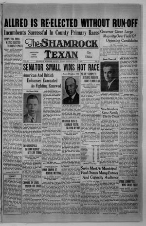 Primary view of object titled 'The Shamrock Texan (Shamrock, Tex.), Vol. 33, No. 67, Ed. 1 Monday, July 27, 1936'.