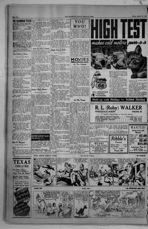 Primary view of object titled 'The Shamrock Texan (Shamrock, Tex.), Vol. 33, No. 23, Ed. 1 Friday, March 12, 1937'.