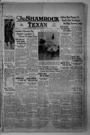 Primary view of object titled 'The Shamrock Texan (Shamrock, Tex.), Vol. 35, No. 67, Ed. 1 Wednesday, July 27, 1938'.