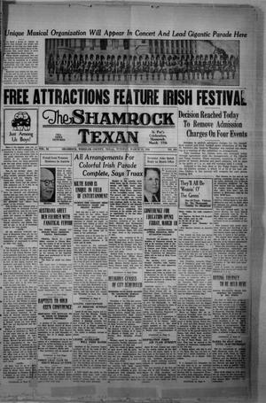 Primary view of object titled 'The Shamrock Texan (Shamrock, Tex.), Vol. 34, No. 262, Ed. 1 Tuesday, March 15, 1938'.