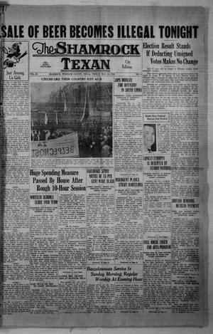 Primary view of object titled 'The Shamrock Texan (Shamrock, Tex.), Vol. 35, No. 4, Ed. 1 Friday, May 13, 1938'.