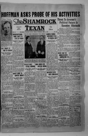 Primary view of object titled 'The Shamrock Texan (Shamrock, Tex.), Vol. 32, No. 283, Ed. 1 Saturday, April 4, 1936'.