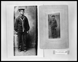 Primary view of object titled 'Man in Navy Uniform'.