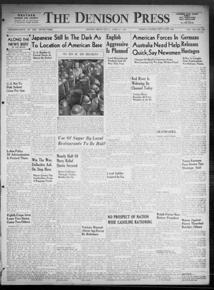 Primary view of The Denison Press (Denison, Tex.), Vol. 8, No. 243, Ed. 1 Friday, April 24, 1942