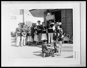 Primary view of object titled 'Band in Uniform'.