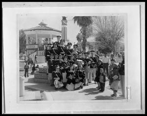 Primary view of object titled 'Band at Fountain'.