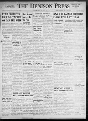 Primary view of The Denison Press (Denison, Tex.), Vol. 8, No. 73, Ed. 1 Saturday, September 20, 1941