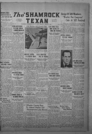 Primary view of object titled 'The Shamrock Texan (Shamrock, Tex.), Vol. 37, No. 25, Ed. 1 Monday, August 5, 1940'.