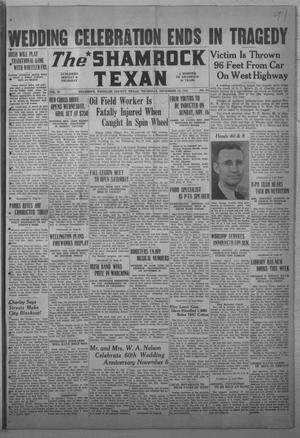 Primary view of object titled 'The Shamrock Texan (Shamrock, Tex.), Vol. 38, No. 54, Ed. 1 Thursday, November 13, 1941'.