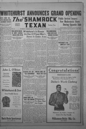 Primary view of object titled 'The Shamrock Texan (Shamrock, Tex.), Vol. 38, No. 12, Ed. 2 Thursday, June 19, 1941'.
