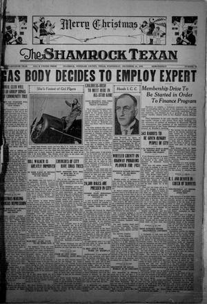 Primary view of object titled 'The Shamrock Texan (Shamrock, Tex.), Vol. 27, No. 70, Ed. 1 Wednesday, December 24, 1930'.