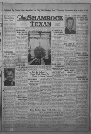 Primary view of object titled 'The Shamrock Texan (Shamrock, Tex.), Vol. 37, No. 7, Ed. 1 Monday, June 3, 1940'.