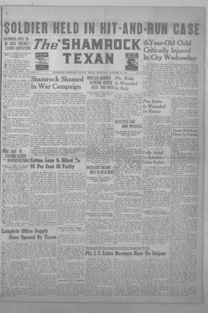 Primary view of object titled 'The Shamrock Texan (Shamrock, Tex.), Vol. 41, No. 23, Ed. 1 Thursday, October 12, 1944'.