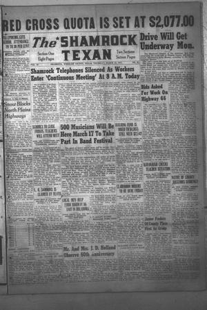 Primary view of object titled 'The Shamrock Texan (Shamrock, Tex.), Vol. 43, No. 45, Ed. 1 Thursday, March 13, 1947'.