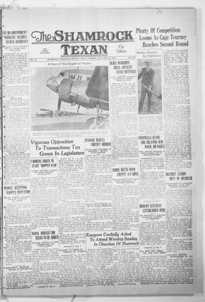Primary view of object titled 'The Shamrock Texan (Shamrock, Tex.), Vol. 35, No. 206, Ed. 1 Friday, January 20, 1939'.