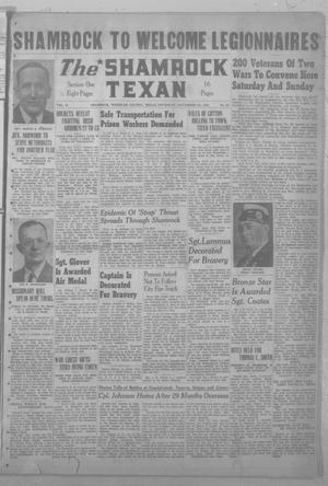 Primary view of object titled 'The Shamrock Texan (Shamrock, Tex.), Vol. 41, No. 28, Ed. 1 Thursday, November 16, 1944'.