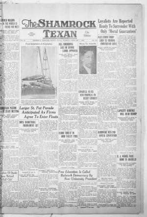Primary view of object titled 'The Shamrock Texan (Shamrock, Tex.), Vol. 35, No. 218, Ed. 1 Tuesday, February 7, 1939'.