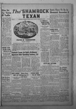 Primary view of object titled 'The Shamrock Texan (Shamrock, Tex.), Vol. 44, No. 30, Ed. 1 Thursday, November 27, 1947'.
