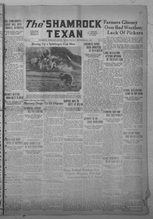 Primary view of object titled 'The Shamrock Texan (Shamrock, Tex.), Vol. 38, No. 41, Ed. 1 Monday, September 29, 1941'.