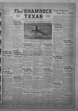 Primary view of object titled 'The Shamrock Texan (Shamrock, Tex.), Vol. 38, No. 27, Ed. 1 Monday, August 11, 1941'.
