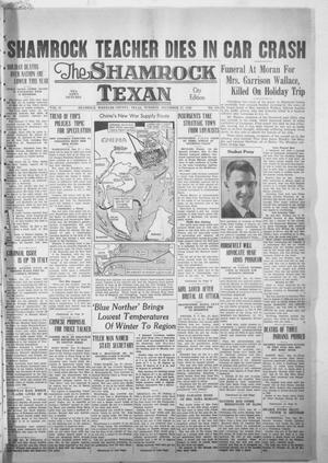 Primary view of object titled 'The Shamrock Texan (Shamrock, Tex.), Vol. 35, No. 188, Ed. 1 Tuesday, December 27, 1938'.