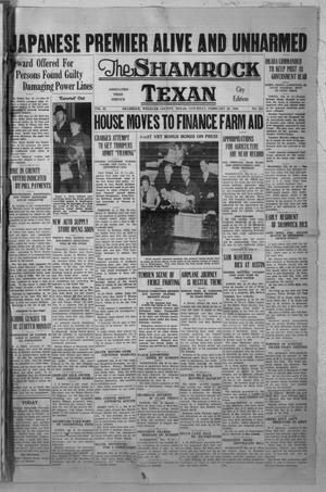 Primary view of object titled 'The Shamrock Texan (Shamrock, Tex.), Vol. 32, No. 253, Ed. 1 Saturday, February 29, 1936'.