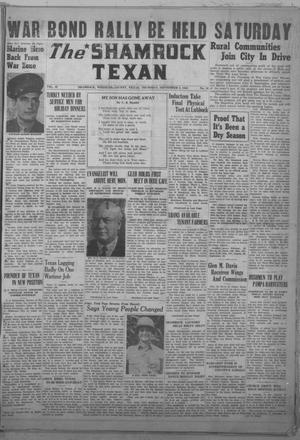 Primary view of object titled 'The Shamrock Texan (Shamrock, Tex.), Vol. 40, No. 18, Ed. 1 Thursday, September 9, 1943'.