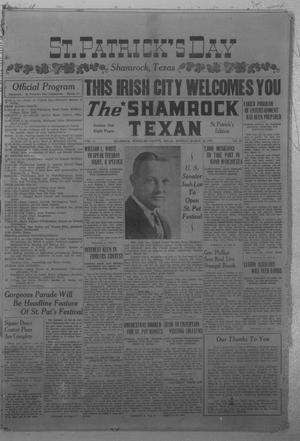 Primary view of object titled 'The Shamrock Texan (Shamrock, Tex.), Vol. 37, No. 86, Ed. 1 Monday, March 10, 1941'.