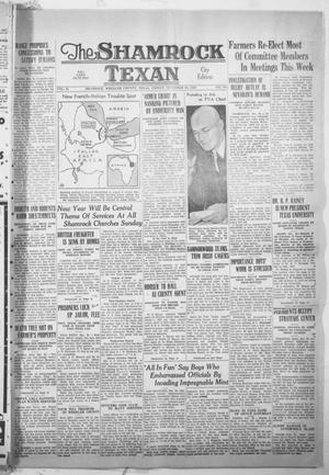 Primary view of object titled 'The Shamrock Texan (Shamrock, Tex.), Vol. 35, No. 191, Ed. 1 Friday, December 30, 1938'.