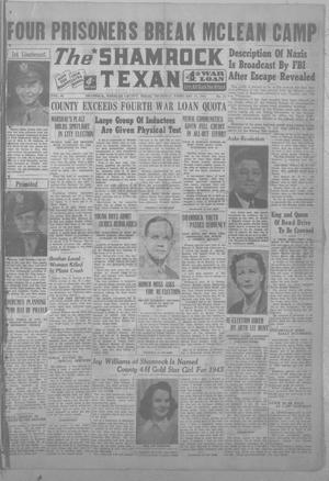 Primary view of object titled 'The Shamrock Texan (Shamrock, Tex.), Vol. 40, No. 41, Ed. 1 Thursday, February 17, 1944'.