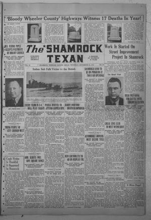 Primary view of object titled 'The Shamrock Texan (Shamrock, Tex.), Vol. 38, No. 40, Ed. 1 Thursday, September 25, 1941'.