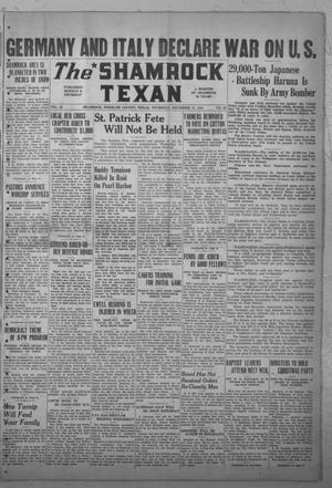 Primary view of object titled 'The Shamrock Texan (Shamrock, Tex.), Vol. 38, No. 62, Ed. 1 Thursday, December 11, 1941'.