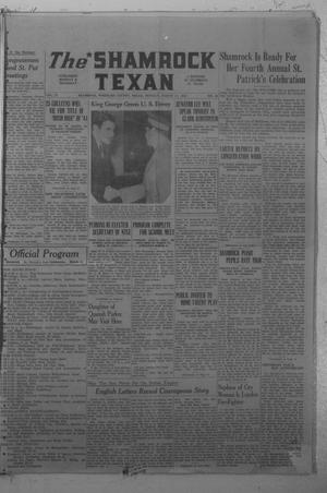 Primary view of object titled 'The Shamrock Texan (Shamrock, Tex.), Vol. 37, No. 88, Ed. 1 Monday, March 17, 1941'.