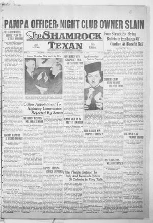 Primary view of object titled 'The Shamrock Texan (Shamrock, Tex.), Vol. 35, No. 213, Ed. 1 Tuesday, January 31, 1939'.