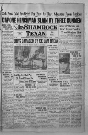 Primary view of object titled 'The Shamrock Texan (Shamrock, Tex.), Vol. 32, No. 241, Ed. 1 Saturday, February 15, 1936'.