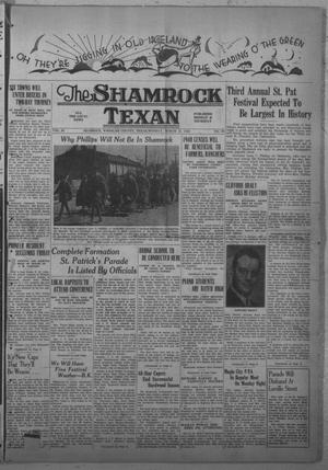 Primary view of object titled 'The Shamrock Texan (Shamrock, Tex.), Vol. 36, No. 89, Ed. 1 Monday, March 18, 1940'.
