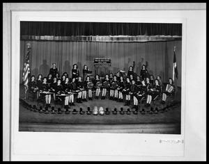 Primary view of object titled 'Abilene High School All-Girls Band'.