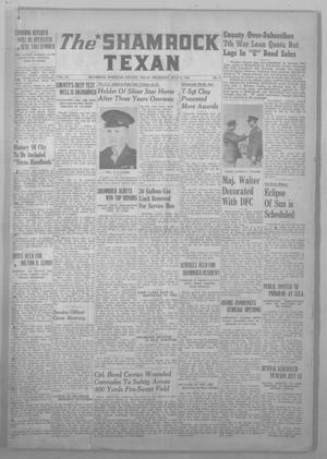 Primary view of object titled 'The Shamrock Texan (Shamrock, Tex.), Vol. 42, No. 9, Ed. 1 Thursday, July 5, 1945'.
