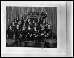 Primary view of object titled 'Abilene High School Girls Band'.