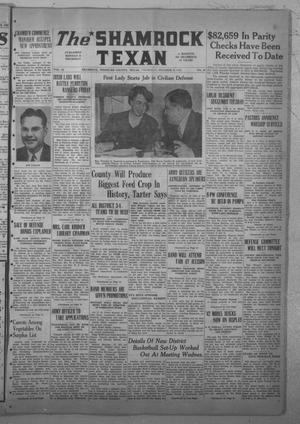 Primary view of The Shamrock Texan (Shamrock, Tex.), Vol. 38, No. 44, Ed. 1 Thursday, October 9, 1941